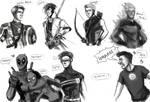 Favourite Marvel Men by ZLynn