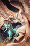 Final Illustration: Battle by ZLynn