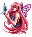 Butterfly Girl by ZLynn
