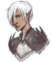 quick sketch: Fenris by ZLynn