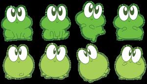 Cute Froggies by Daieny