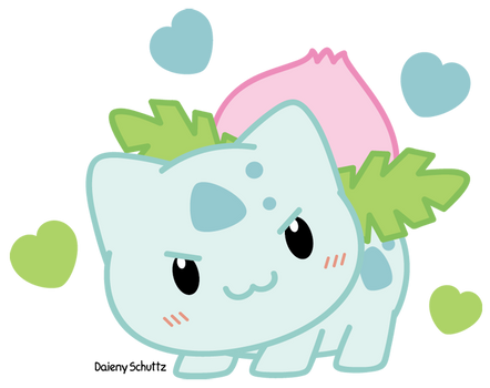 Chibi Ivysaur by Daieny