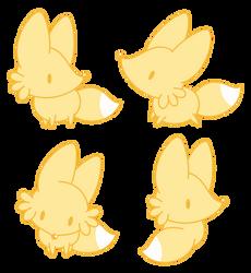 Yellow Fox by Daieny