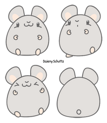 Chibi Hamster by Daieny