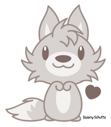 Huggable Wolf by Daieny