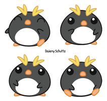 Little Macaroni Penguin by Daieny