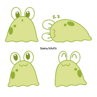 Kawaii Slug by Daieny
