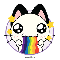 Puking Rainbows by Daieny