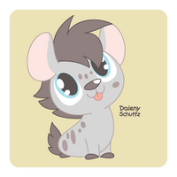 Grey Hyena by Daieny