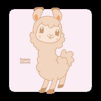 Kawaii Alpaca by Daieny