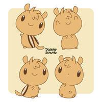 Chibi Chipmunk by Daieny