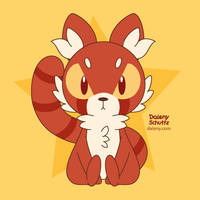 Mad Red Panda by Daieny