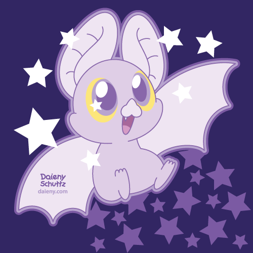 Purpurina Bat by Daieny