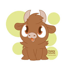 Cutie Browncow by Daieny