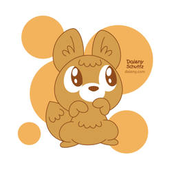 Cuddle Foxy by Daieny