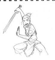 Sokka sketch by rubyd