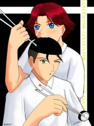 Chomp - Oishi+Eiji by rubyd