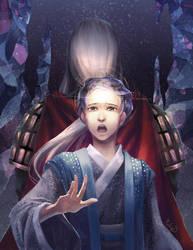The Twelve Kingdoms - Kirin and King by rubyd