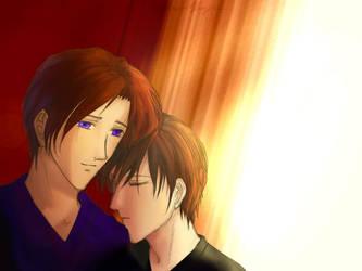 Depend on me - TsuzukixHisoka by rubyd