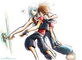 Kingdom Hearts - woozy by rubyd