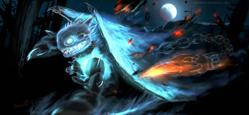 NickelFerrum[deeper than hell] - Lara's BlueDemon by MartinBlur