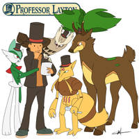 Team of Gentlemanly Puzzle Solvers by SSJgokuVSshinymewtwo