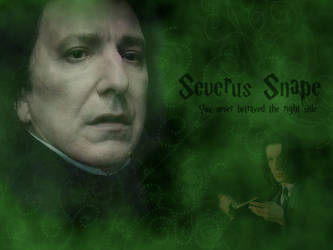 Severus Snape by Lily-so-sweet