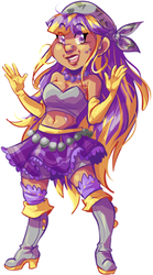 clapping for purple and yellow by lovebby