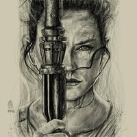 Star Wars rey Done by TheeLamontPounds