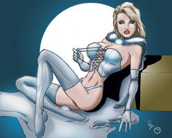 White Queen Emma by MarcBourcier