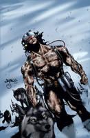 Wolverine Weapon X by MarcBourcier