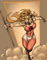 Cheetara RUN Attack Reboot by MarcBourcier