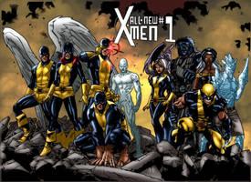 Immonen X Men Recreation by MarcBourcier