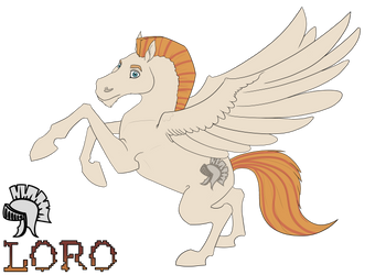 Loro ref (updated) by The-odd-crow