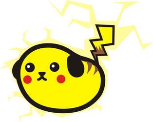 Mameshiba Pikachu by Miyukx