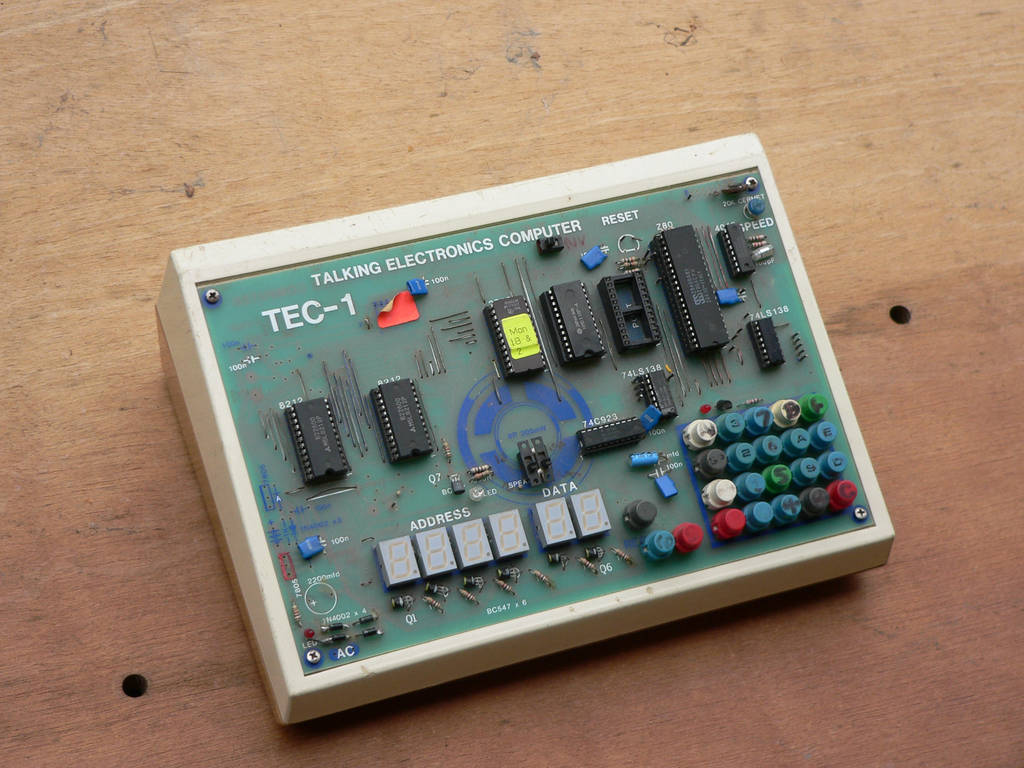 old computer tec-1 z80 05 by otherunicorn-stock