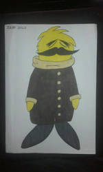 monsieur moustache  by mathieu-nightray
