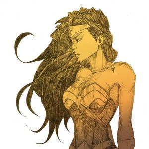 Wonder Woman by bysilvaart