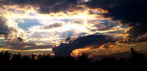 Still Burning Sky by TheDrawnDen93