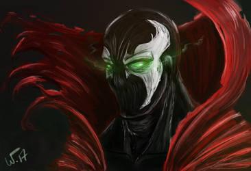 Spawn Speedpaint by wampir00