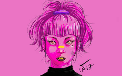 PurpleGirl1 by wampir00
