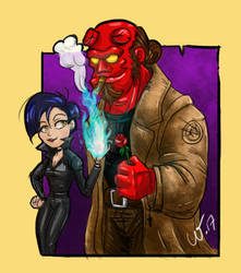 Burning Love by wampir00