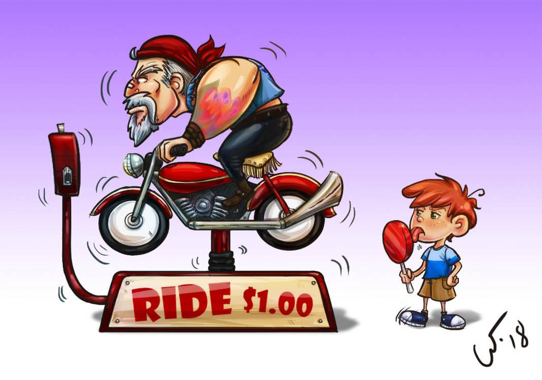 Motorbiker best ride by wampir00