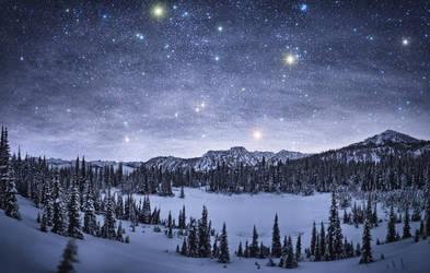 Starry night by NickSpiker