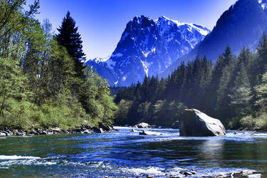 River Color by NickSpiker