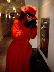 Carmen Sandiego - Phone Tap by CaribbeanBlue
