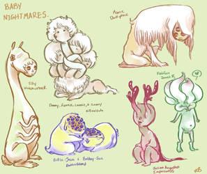 precious little angels by Harmony-Jade