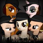 Fifth Harmony Ponies: Reflection by AldoBronyJDC