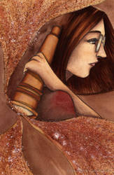 The Amber Spyglass by ZurinaRose