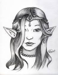 Princess Ceri by ZurinaRose